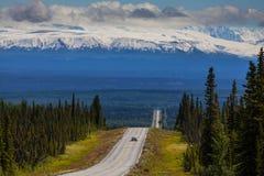 Montagnes sur l'Alaska photographie stock