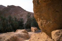 Montagnes sur le nord du saha Image stock