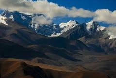 Montagnes Thibet de l'Himalaya Image stock