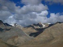 montagnes Thibet de porcelaine images libres de droits