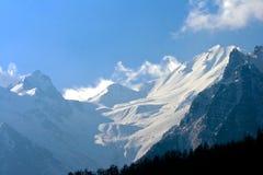Montagnes tibétaines Photos stock