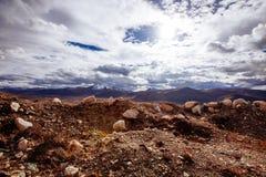 Montagnes tibétaines Image stock
