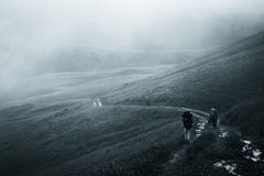 Montagnes ukrainiennes Image libre de droits