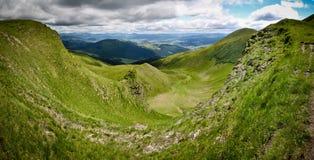 Montagnes ukrainiennes Photos libres de droits
