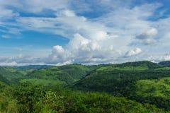 Montagnes vertes du Nicaragua photos stock