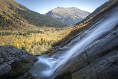 Montagnes, voyage, nature, lacs, bel endroit photo stock