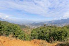 Montagneux du nord de Xiamen images libres de droits
