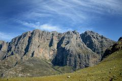 Montagu Mountain Range Royaltyfria Foton