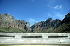 Montagu Mountain Range Stock Photo