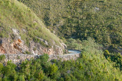 Montagu Pass over the Outeniqua Mountains Stock Photography
