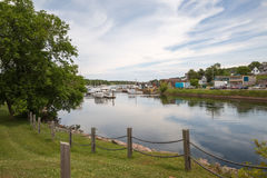 Montague小港口爱德华王子岛的 免版税库存图片