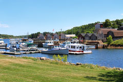 Montague harbour, P.E.I Stock Photos