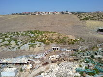 Montain i Tangier Royaltyfri Bild