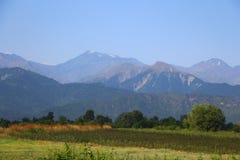 Montain krajobraz w Oguz regionie Azerbejdżan obraz stock