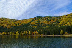 Montain lake Stock Image