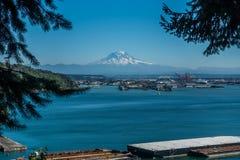 Montain Nad Tacoma obraz stock