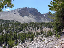 Montain Range in the Great Basin National Park, Nevada Stock Photo