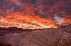 Montain Sonnenaufgang lizenzfreie stockfotos