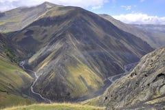 Montain w Azerbejdżan zdjęcie royalty free