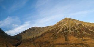 Montains在Sligachan Sye,苏格兰海岛  库存图片