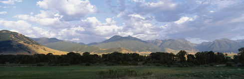 montains视图 图库摄影