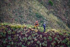 Montains del Brasile Minas Gerais dei pompieri fotografia stock libera da diritti