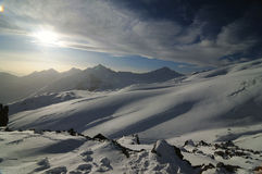 Montains del Cáucaso Foto de archivo