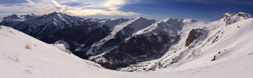 Montains, France. High mountains is France royalty free stock photo