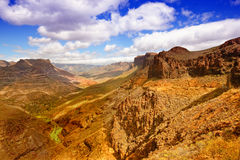 Montains of Gran Canary Royalty Free Stock Photography