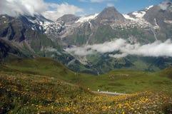 Montains i Österrike arkivbilder