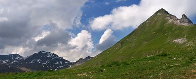 Montains in Swiss Stock Image