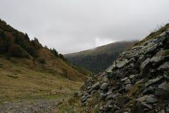 Montains w Francja Zdjęcie Stock