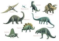 Montaje animal prehistórico Fotos de archivo libres de regalías