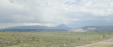 Montaje Ararat Fotografía de archivo