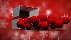 Montaje de la Navidad metrajes