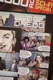 Montaje 2000 del cómic del ANUNCIO fotografía de archivo libre de regalías