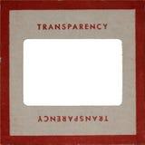 Montaje del cartón prensado de la diapositiva de la vendimia Foto de archivo
