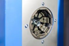 Montaje del dispositivo de la manguera de alta presión con las colocaciones fotografía de archivo libre de regalías