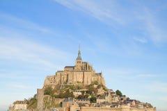 Montaje del Saint Michel de Mont, Francia Imágenes de archivo libres de regalías