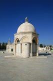 Montaje del templo en Jerusalén imagenes de archivo