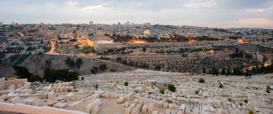 Montaje del templo en Jerusalén Foto de archivo