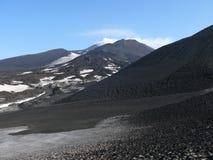 Montaje el Etna Imagen de archivo libre de regalías