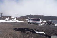 Montaje el Etna Imagen de archivo
