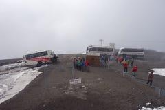 Montaje el Etna Foto de archivo