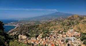 Montaje el Etna imágenes de archivo libres de regalías
