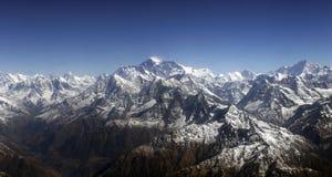 Montaje Everest imagen de archivo