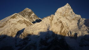 Montaje Everest Foto de archivo libre de regalías