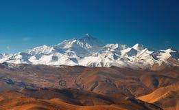 Montaje Everest foto de archivo