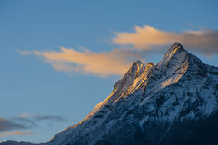 Montaje Everest Imágenes de archivo libres de regalías