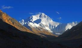 Montaje Everest, pico imágenes de archivo libres de regalías